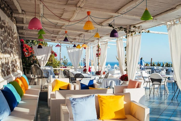Hotel Le Fioriere - Top Hotels in Praiano - View