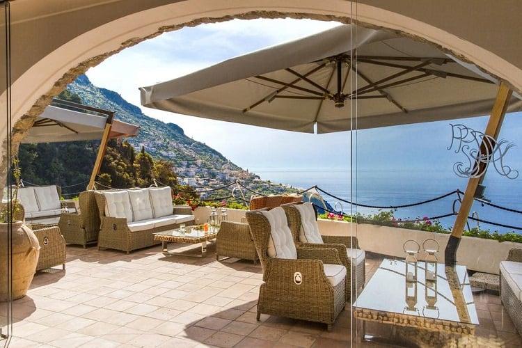 Hotel Piccolo Sant'Andrea - Best Praiano Hotels - View