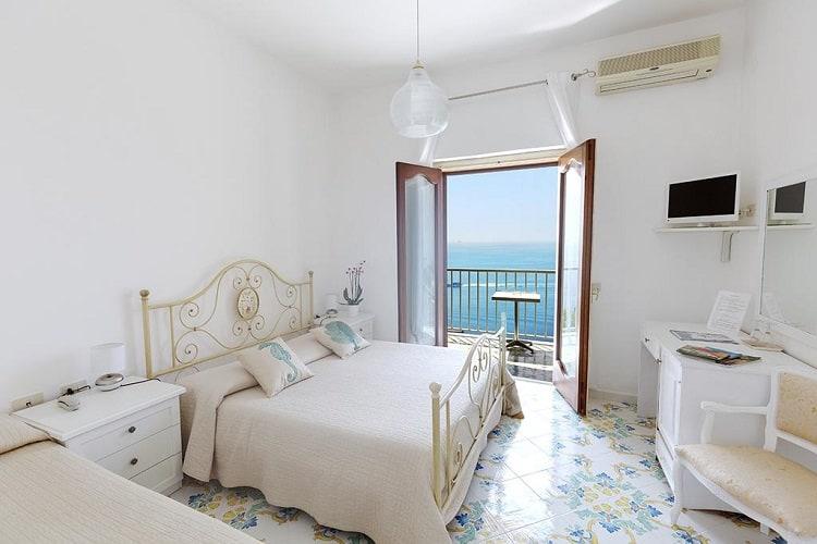 Hotel Villa Bellavista - Best Hotels Praiano Italy - Room