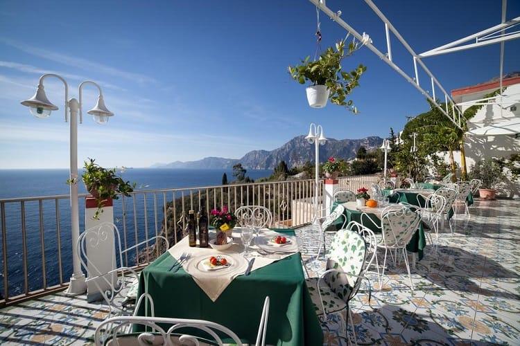 Hotel Villa Bellavista - Best Hotels Praiano Italy - View