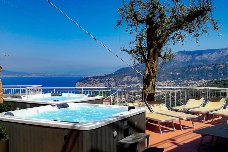 Hotel Villa Fiorita - Best rated hotels in Sorrento Italy - View