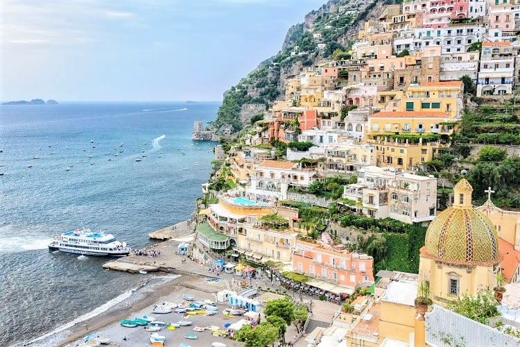How to get to Amalfi Coast from Naples - Ferry Naples to Amalfi