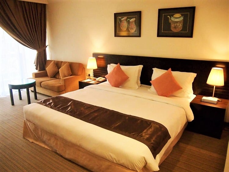 Mahkota Hotel - Top Melaka Hotel Options - Room