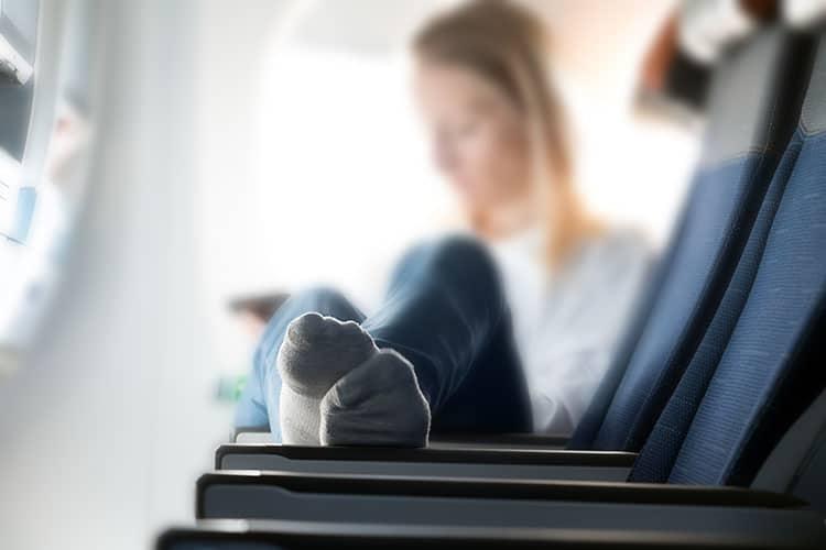 Regular Socks for Long haul flight