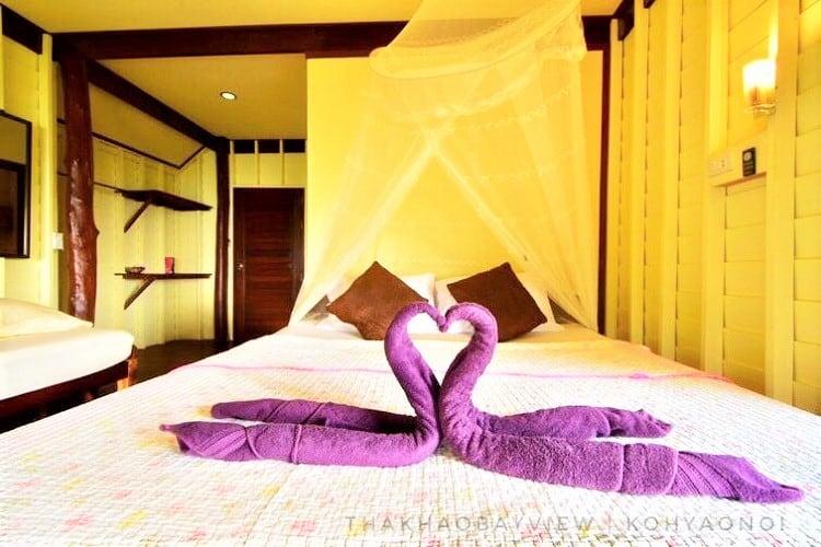Tha Khao Bay View - Best Koh Yao Noi Resort - Room