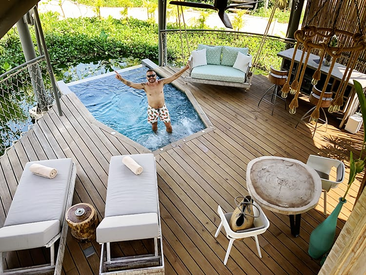 Treehouse Villas Private Pool