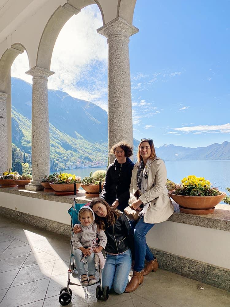 Villas to visit at Varenna Como