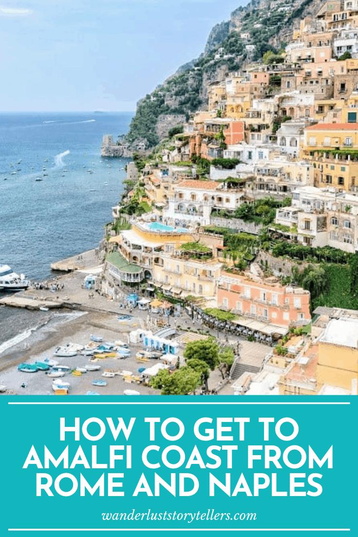 Amalfi Coast to Rome
