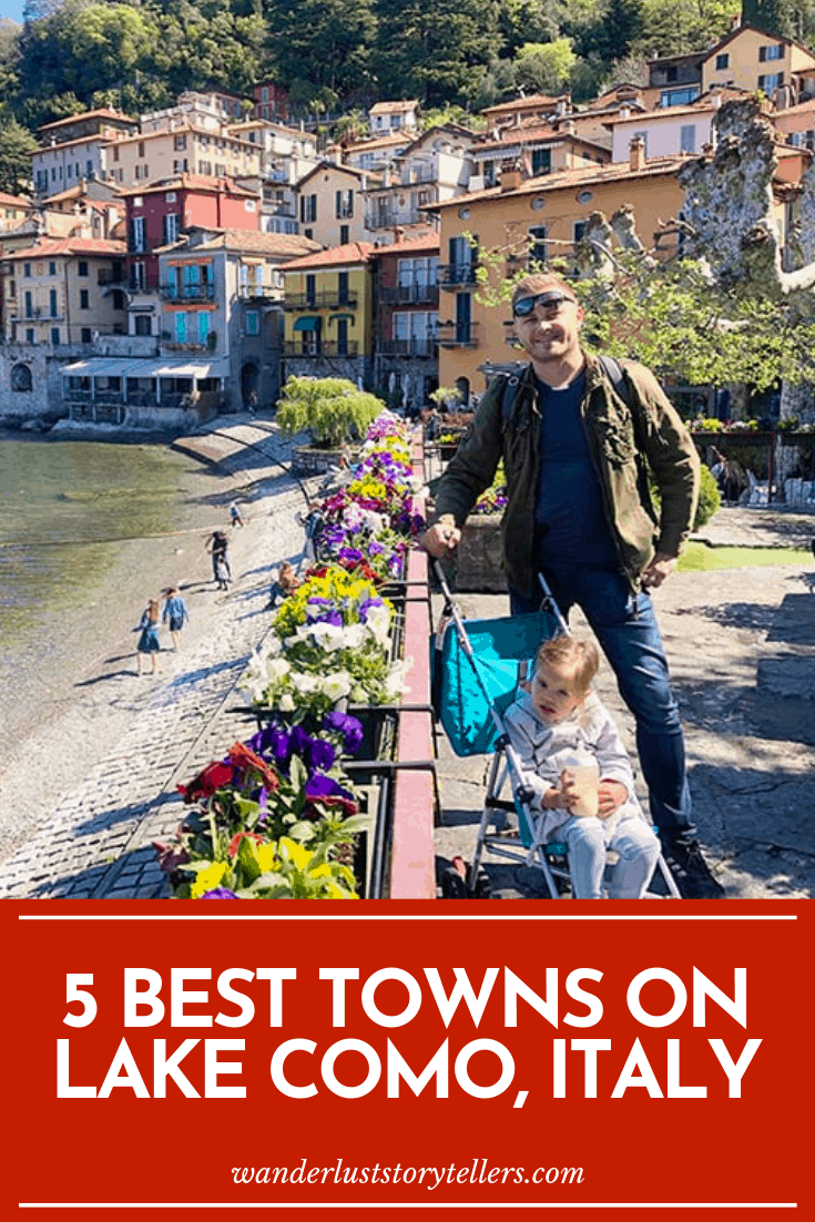 Which town to stay on Lake Como