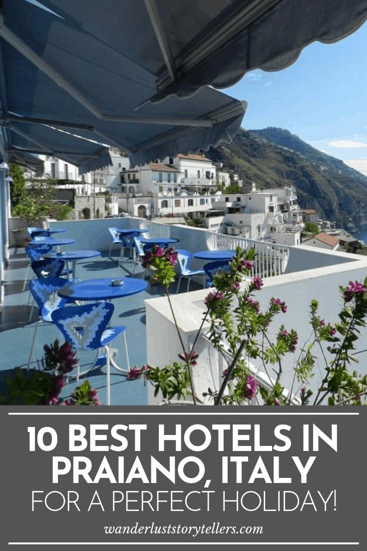 Best Praiano Hotels