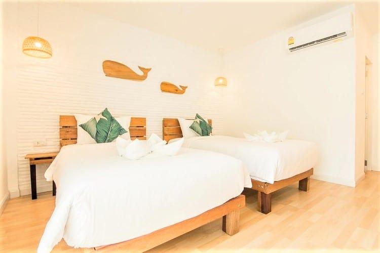 Whalecome Aonang Resort - Best Krabi Hotels - Room