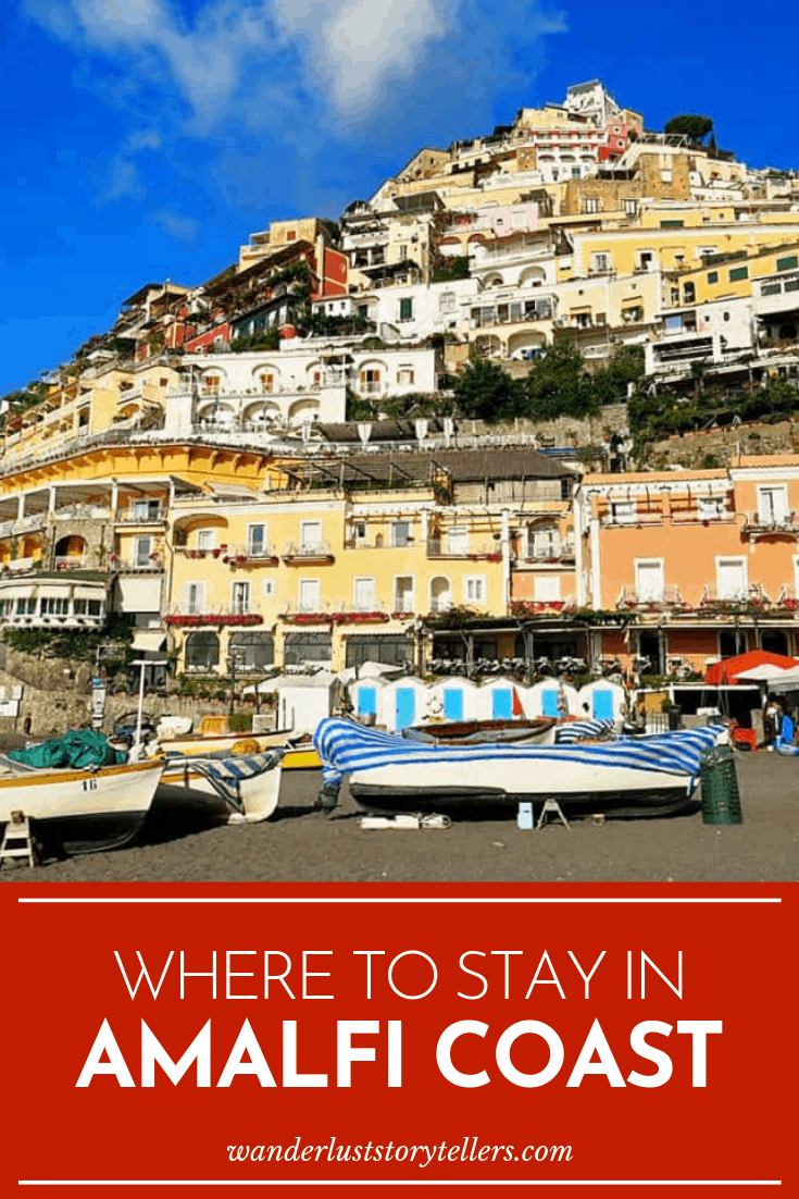 Which to stay at on Amalfi Coast