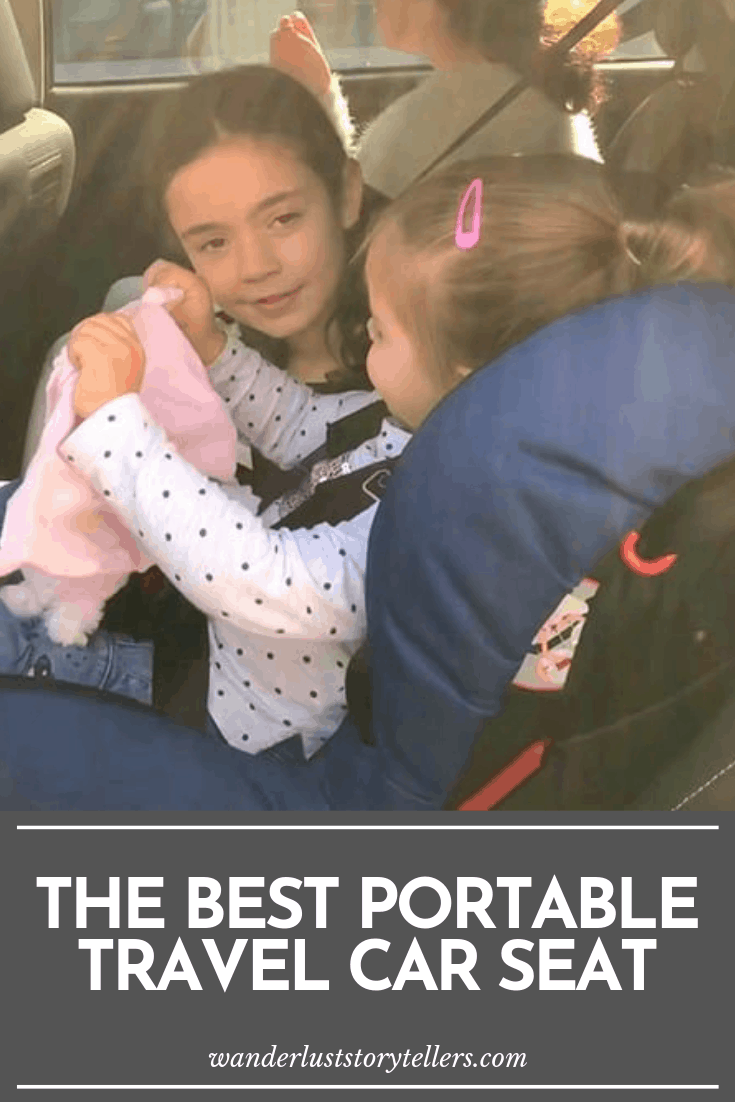 Portable car seat for 2 year old