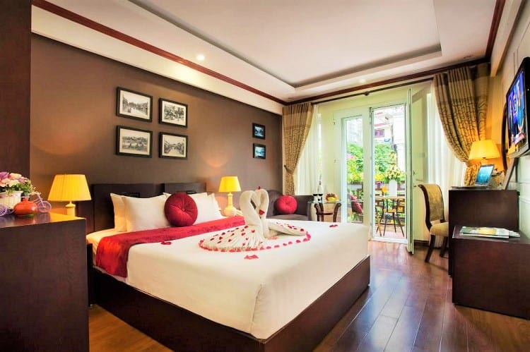 Paradise Boutique Hotel - Best hotels in Hanoi - Room