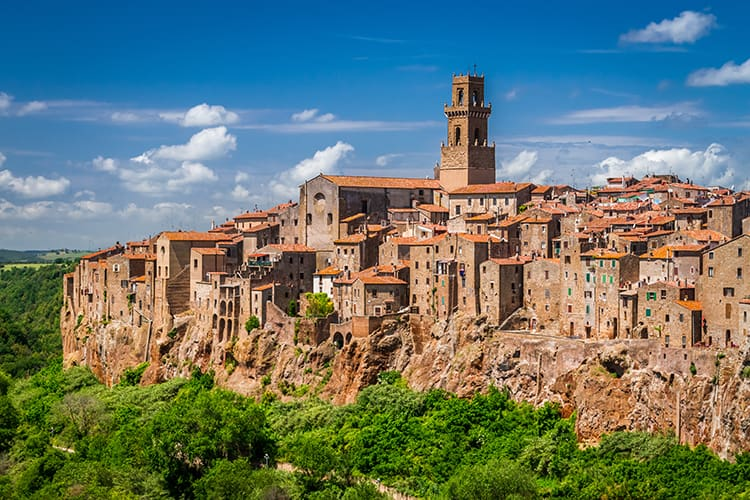 Pitigliano best tuscan towns