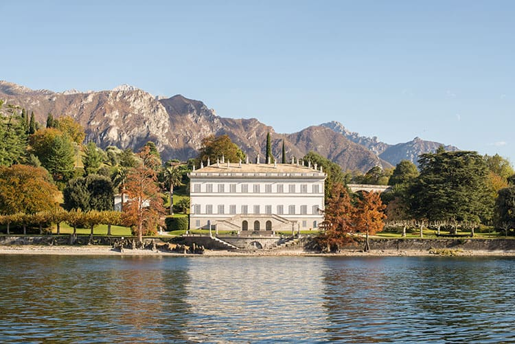 Villa Melzi and Gardens near Bellagio.