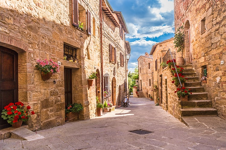 best small towns in tuscany - Pienza