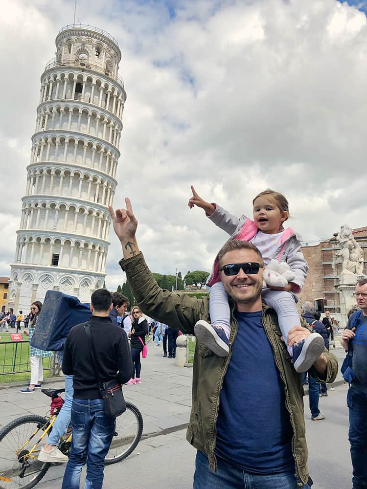 best towns to visit in tuscany - Pisa with kids