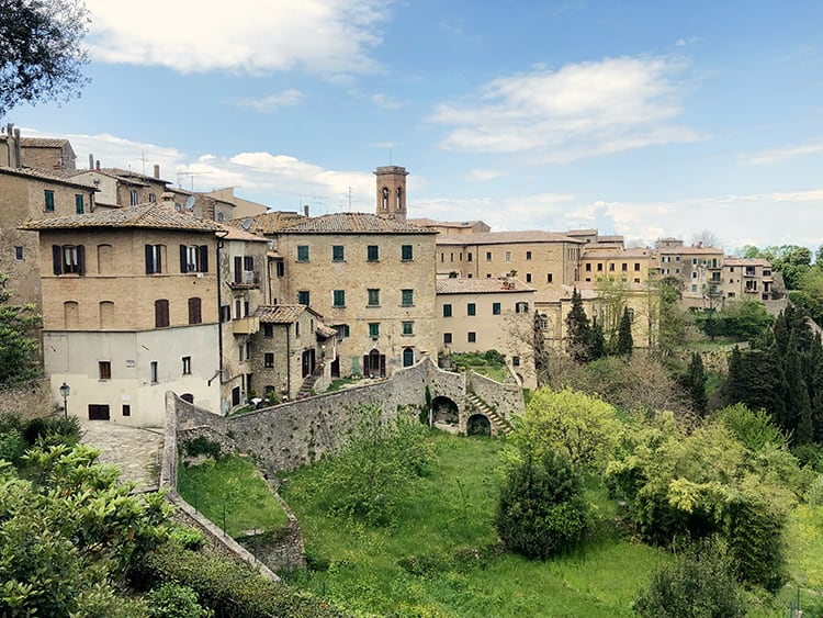 top sights in Volterra Tuscany Italy