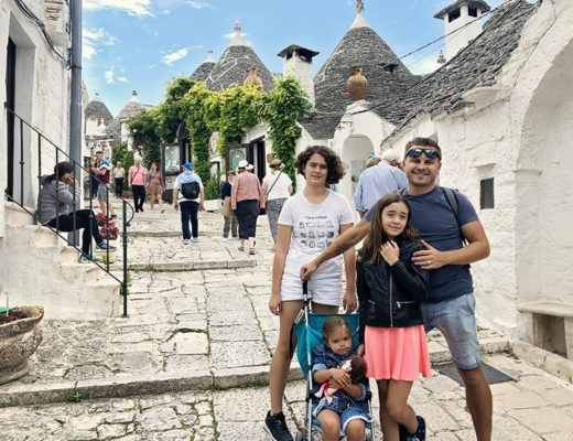 BEST CITIES IN SOUTHERN ITALY: Alberobello with Kids