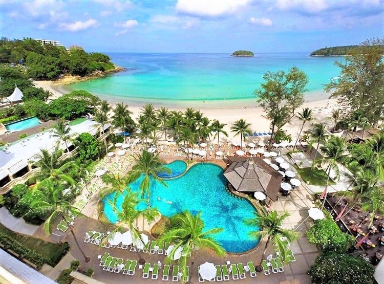 Best Beachfront Hotels in Phuket - Beyond Resort Kata - Beach View
