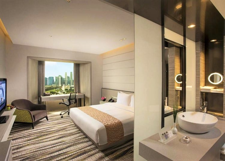 Best Family Accommodation Singapore - Carlton Hotel - Room