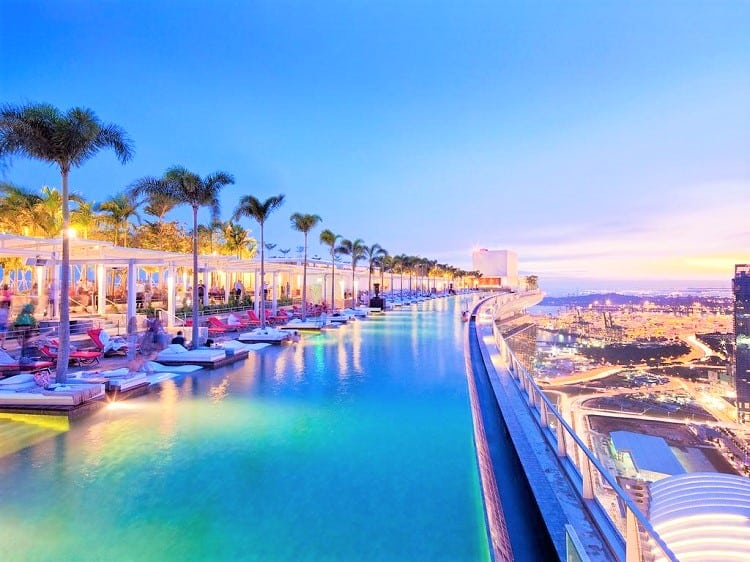 Best Family Hotel Singapore - Marina Bay Sands Hotel - Pool