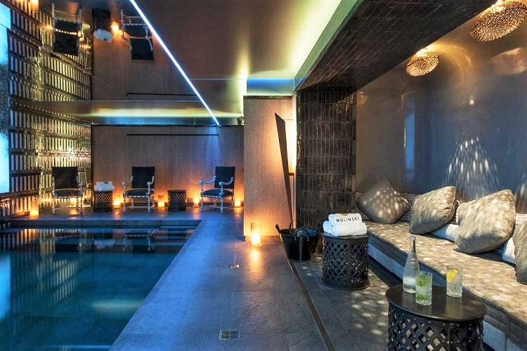 Best Family Hotels in Paris - Nolinski Paris - Pool