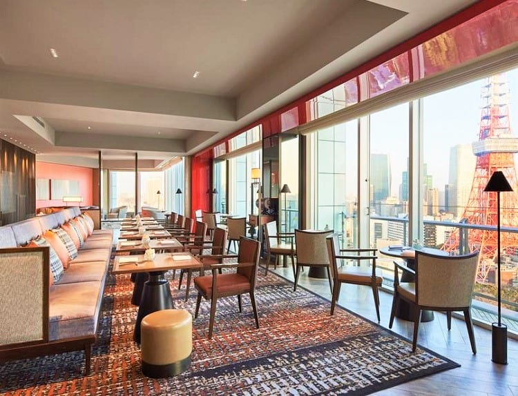 Best Family Hotels in Tokyo - The Prince Park Tower Tokyo Hotel - Dining