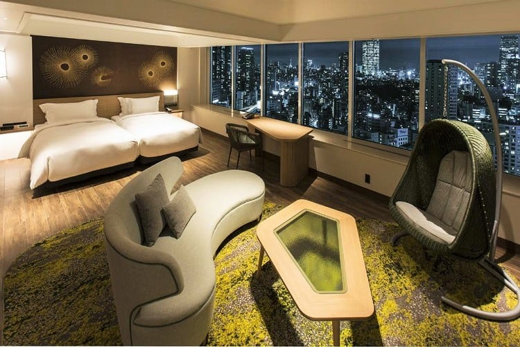 Best Family Hotels in Tokyo - The Prince Park Tower Tokyo Hotel - Room