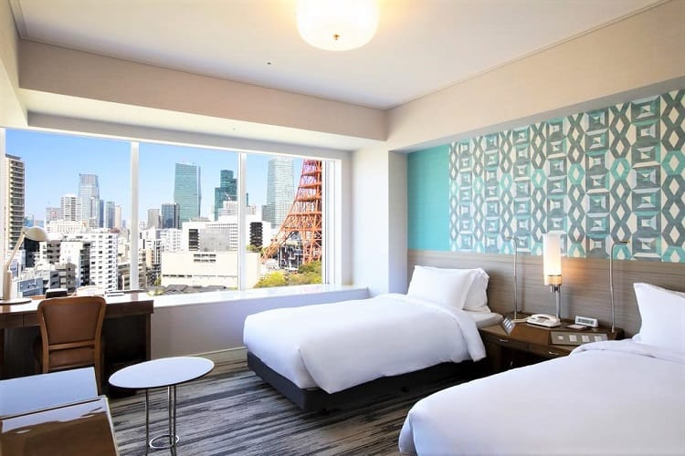 Best Family Hotels in Tokyo - The Prince Park Tower Tokyo Hotel - Room2
