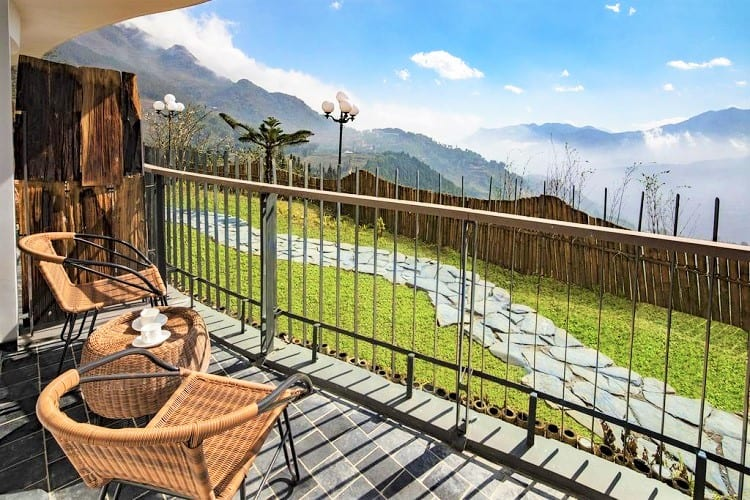 Best Hotel in Sapa Vietnam - Pao's Sapa Leisure Hotel - View