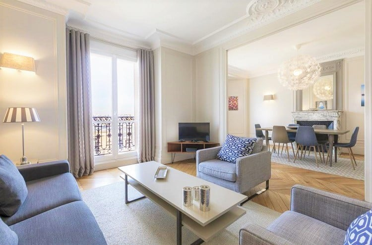 Best Hotels in Paris for Family - Résidence Charles Floquet - Lounge