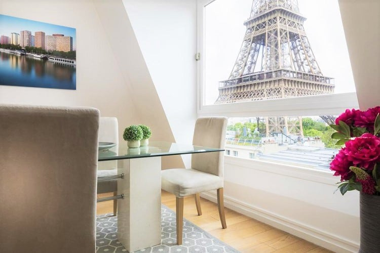 Best Hotels in Paris for Family - Résidence Charles Floquet - View