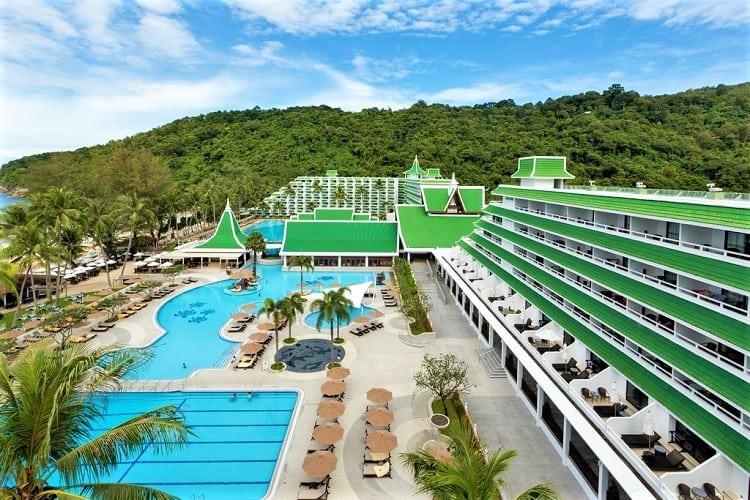 Best Phuket Accommodation on the Beach - Le Meridien Phuket Beach Resort - View