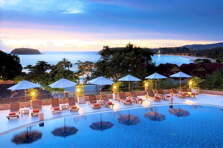 Best Phuket Beach Hotels - Chanalai Garden Resort - Pool View