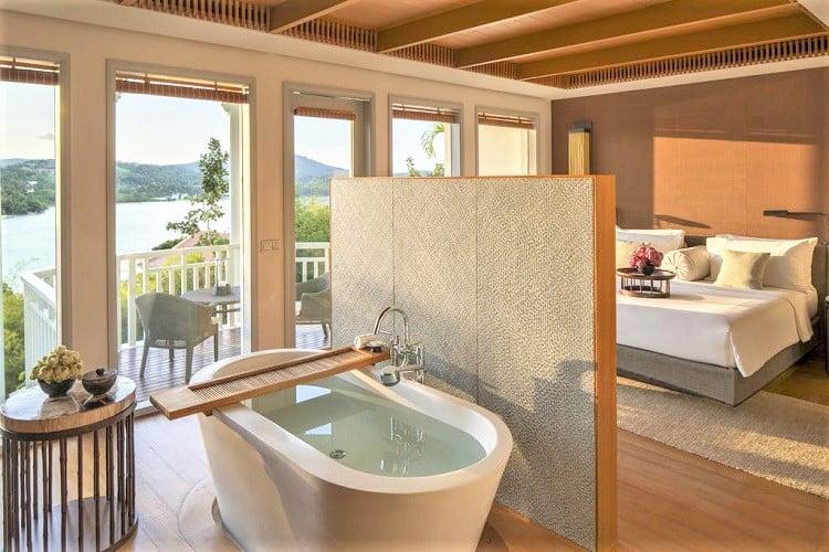 Best Phuket Beachside Resorts - Amatara Wellness Resort - Room2