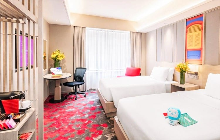 Best Singapore Accommodation for Families - Royal Plaza on Scotts Hotel - Room