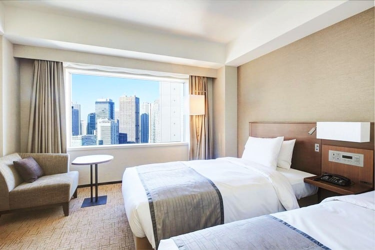 Best Tokyo Hotels for Family - Hotel Century Southern Tower - Room
