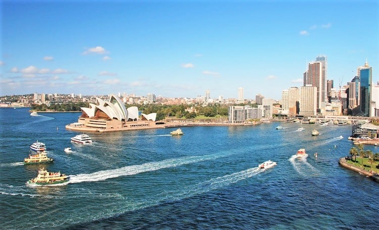 Check out Sydney