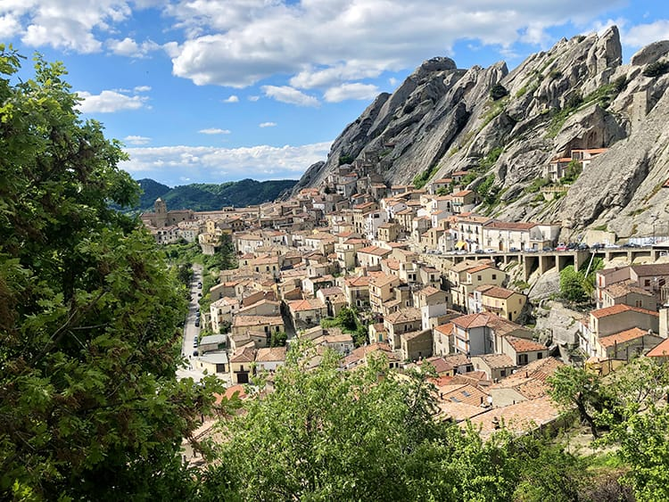 Cities in South Italy - Pietrapertosa