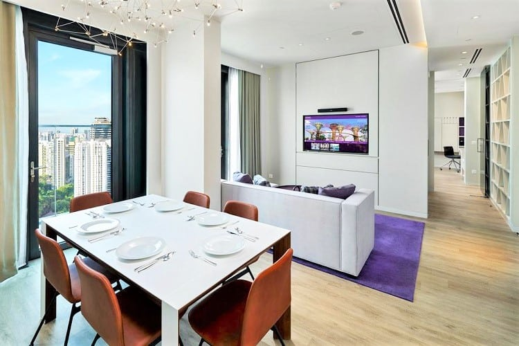 Family Friendly Hotels in Singapore - YOTEL Singapore - Dining