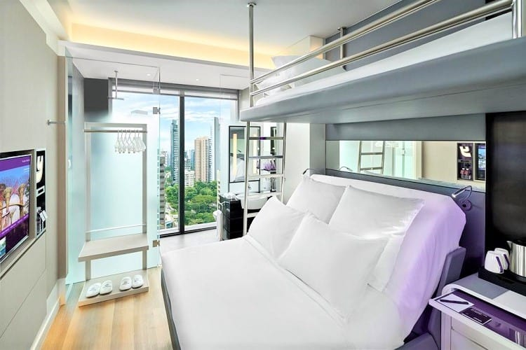 Family Friendly Hotels in Singapore - YOTEL Singapore - Room