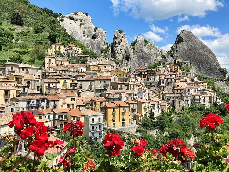South Italy Cities - Castelmezzano