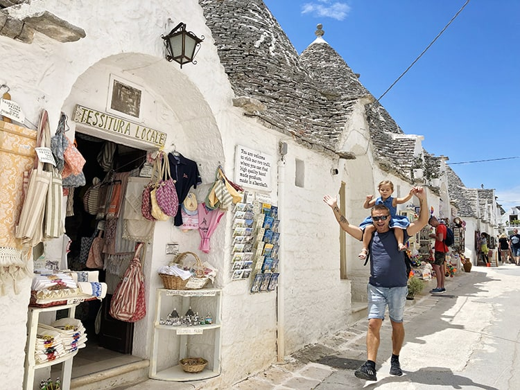 Southern Italy cities - Alberobello