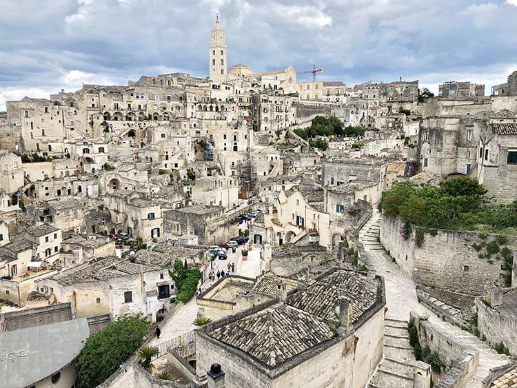 Southern Italy holidays to Matera Sassi