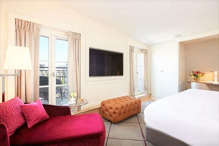 Top Family Hotels in Paris - Hotel Opéra Richepanse - Room