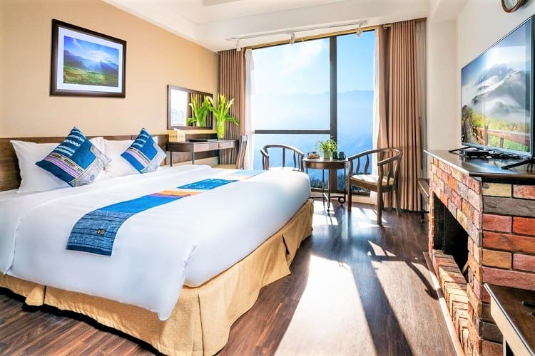 Where to Stay in Sapa Vietnam - Amazing Hotel Sapa - Room