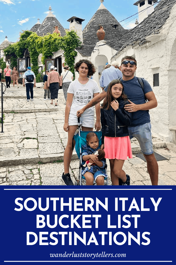 Southern Italy Bucket list