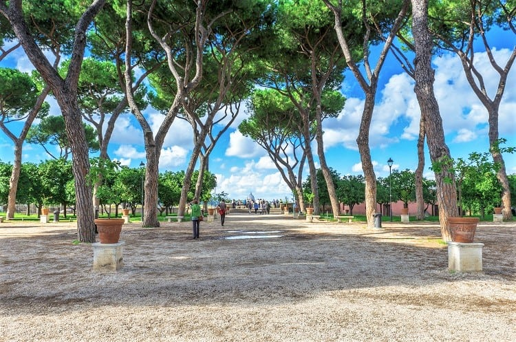 Best things to do on a Weekend in Rome - Check out the views from the Aventine Hill